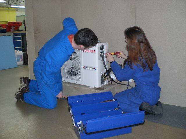 BAC PRO TFCA Technicien du Froid et du Conditionnement de l'Air